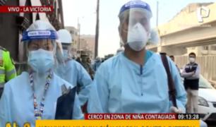 La Victoria: autoridades cercan zona y realizan descarte y vacunación por caso de difteria