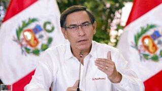 Presidente Vizcarra envió sus descargos al JNE por presunta vulneración de principio de neutralidad