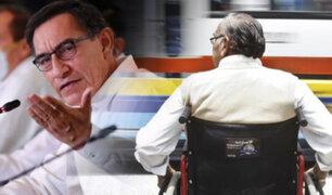 Martín Vizcarra: Atenderemos a 34 mil personas con discapacidad severa