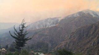 Valle Sagrado de los Incas: incendio forestal pone en riesgo zonas urbanas