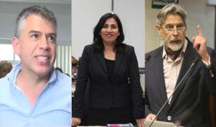 Julio Guzmán presentó precandidatura presidencial en el Partido Morado