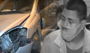 Conductor en estado de ebriedad provoca accidente en San Luis