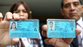 Reniec: peruanos podrán usar DNI caducados lo que resta del año