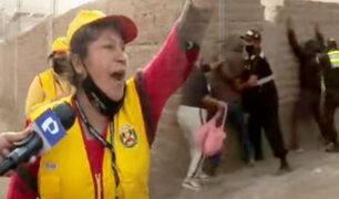 """Así se preparan las """"Juntas Vecinales"""" para hacer frente a la delincuencia en Manchay"""