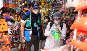 Mercado Central: clausuran y multan locales que vendían productos tóxicos por Halloween
