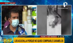 Familia de padre e hijo atacados por falso vendedor de caramelos pide maxima sanción