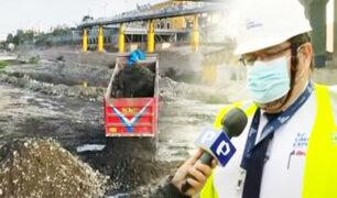 10 mil toneladas de sedimentos fueron retiradas del río Rímac para evitar desbordes