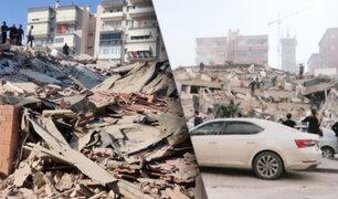 Terremoto de 7 grados sacude Turquía