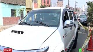 En tiempo récord, PNP recupera camioneta robada tras activar Plan Cerco