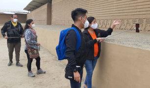 Chan Chan reabrió hoy: impresionante ciudadela de barro recibió a sus primeros visitantes
