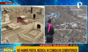 VES: cementerio Cristo El Salvador también cierra sus puertas este 1 y 2 de noviembre