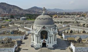 Cementerios de Lima presentan plan de seguridad para el 1 y 2 de noviembre