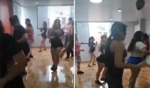 Surco: intervienen local donde daban clases de baile pese a prohibición