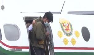 Presunto asesino de prestamista fue trasladado a Lima