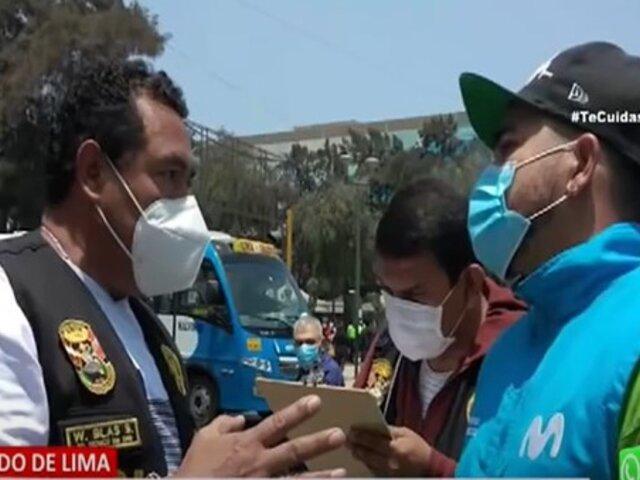 Cercado de Lima: 17 detenidos por vender chips de celulares de dudosa procedencia
