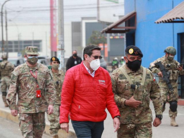 Mindef: más de 100 militares muertos y unos 3 mil fueron contagiados con COVID-19