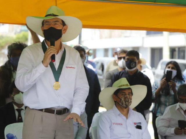 Vizcarra ratifica compromiso de trabajar junto a alcaldes para reactivar la economía