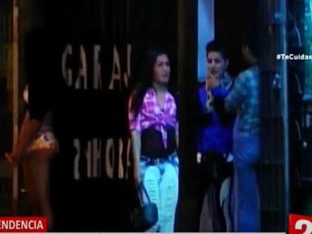 Vecinos aquejados por la prostitución que se ejerce las 24 horas en inmediaciones de Mega Plaza