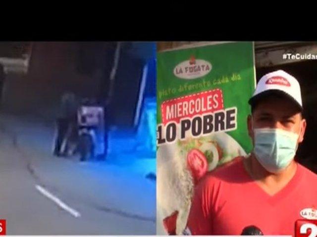 Comas: Repartidor extranjero denuncia que fue asaltado por sus compatriotas