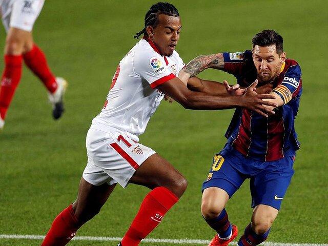 Barcelona empató 1-1 con Sevilla en el Camp Nou