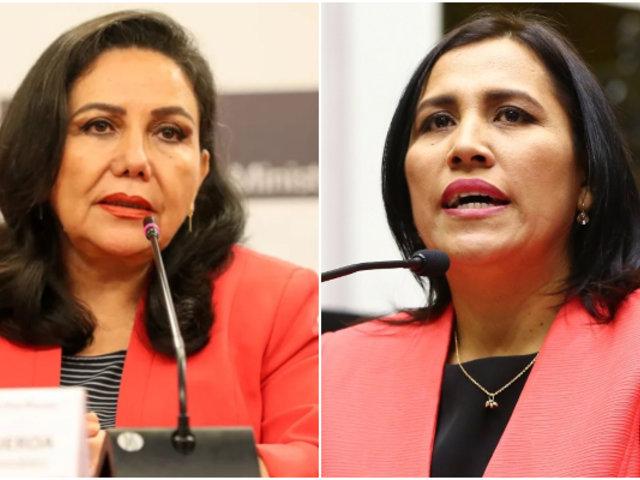 Gloria Montenegro y Flor Pablo se unen al Partido Morado