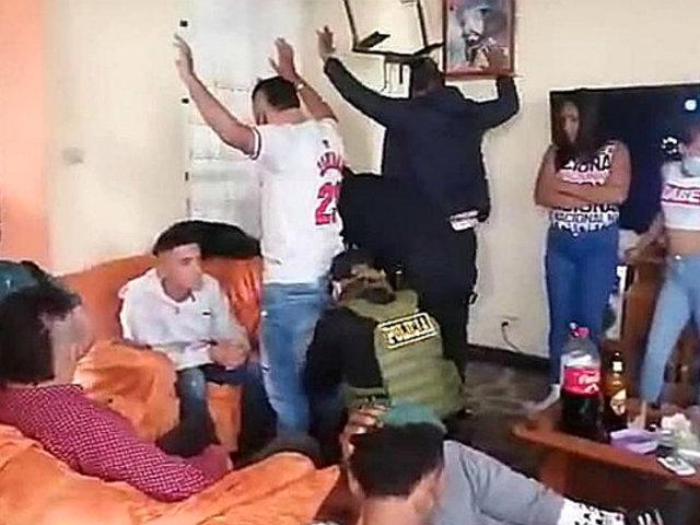 Alcalde de Huamanga pide expulsar a extranjeros que hicieron fiesta COVID-19 con armas