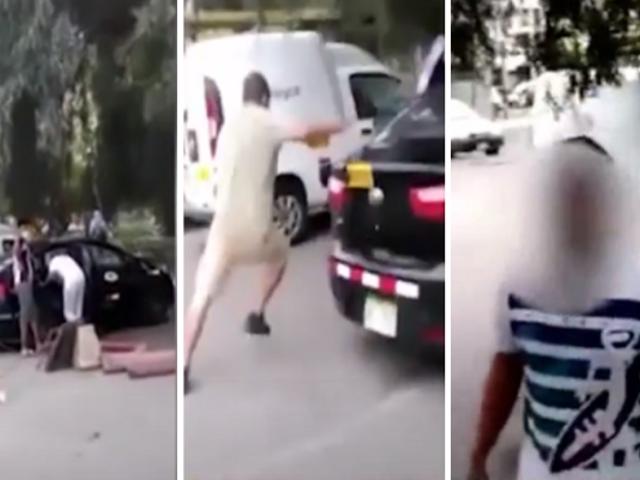 Jesús María: presuntos hinchas de la 'U' atacaron a joven por usar camiseta de Alianza Lima