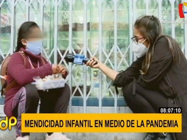 La cruda realidad de los niños obligados a mendigar en medio de la pandemia
