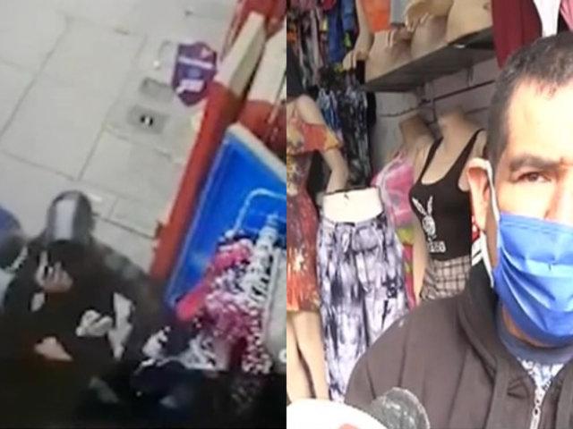 La Victoria: Comerciante formal denuncia que fiscalizadores se llevaron 7 200 soles durante operativo