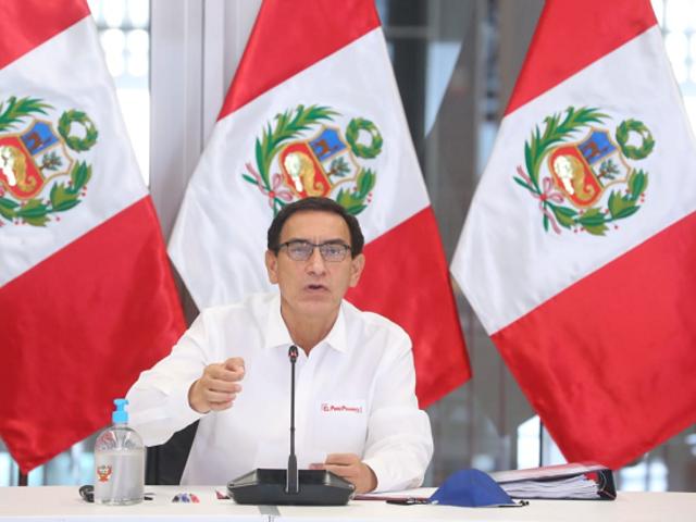 Presidente Vizcarra rechaza supuesto pago irregular vinculado al club de la Construcción