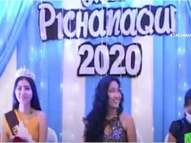 """Junín: premiación """"Miss Pichanaqui 2020"""" fue interrumpida por la Policía"""