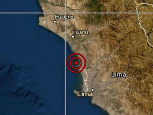 Sismo de 4.5 sacudió Lima esta mañana