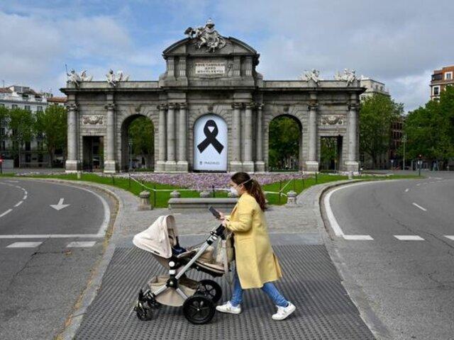 Gobierno español dispuso estado de alarma en Madrid para frenar rebrote de COVID-19