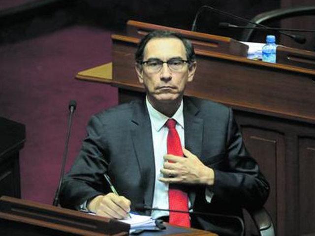 Martín Vizcarra: UPP recolecta firmas para presentar moción de vacancia en su contra