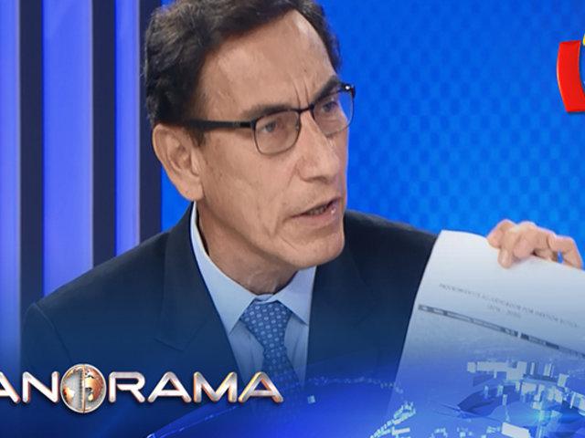 ¡Exclusivo! Presidente Martín Vizcarra responde a nueva denuncia