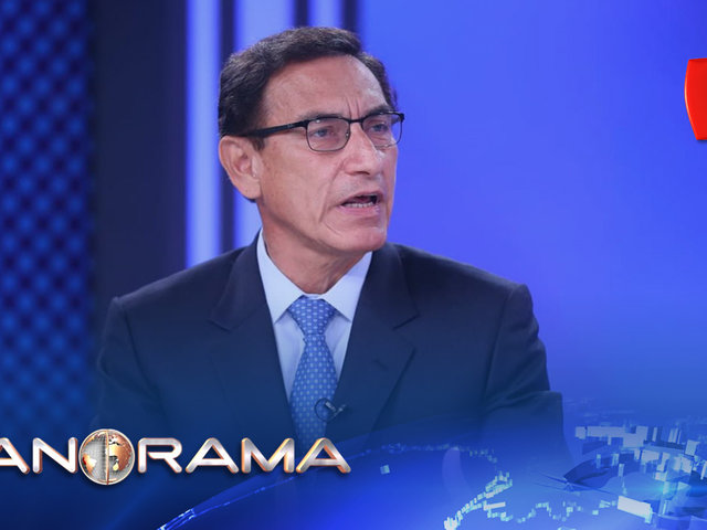"""Presidente Vizcarra: """"El empleo formal va a tomar un año en recuperarse"""""""