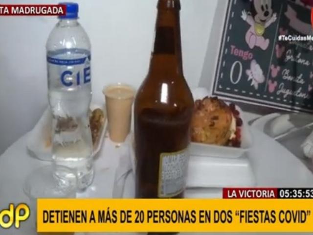 La Victoria: familia realizó dos 'fiestas COVID' en menos de 24 horas