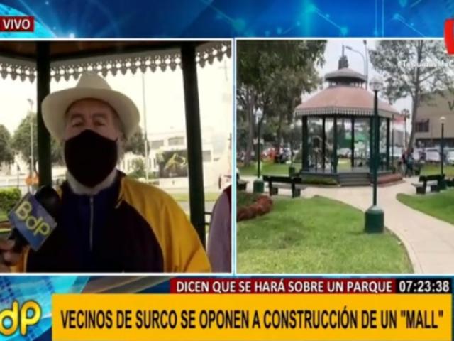 Surco: vecinos afirman que llegarán hasta las últimas consecuencias por parque
