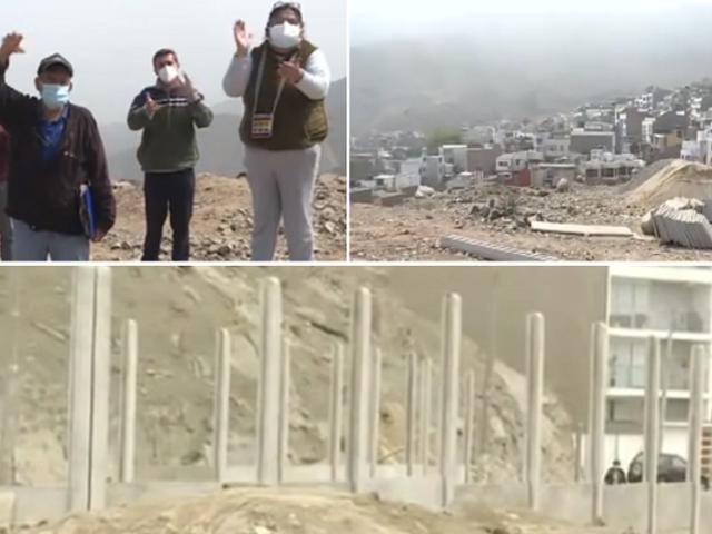 La Molina: vecinos se oponen a construcción de edificios en parque arquológico