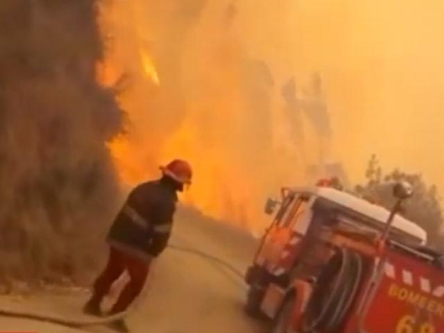 Incendio forestal afecta varias hectáreas de cultivo y viviendas en la región Áncash