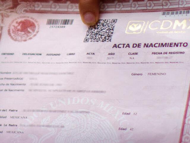 México: proponen que en las actas de nacimiento ya no aparezca el género