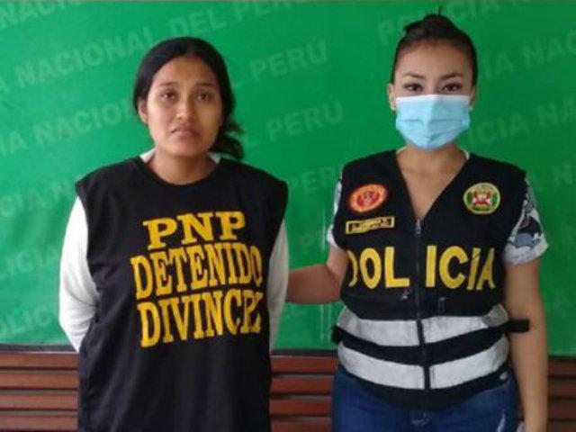 Lambayeque: detienen a mujer acusada de matar a su bebé y enterrarla en corral