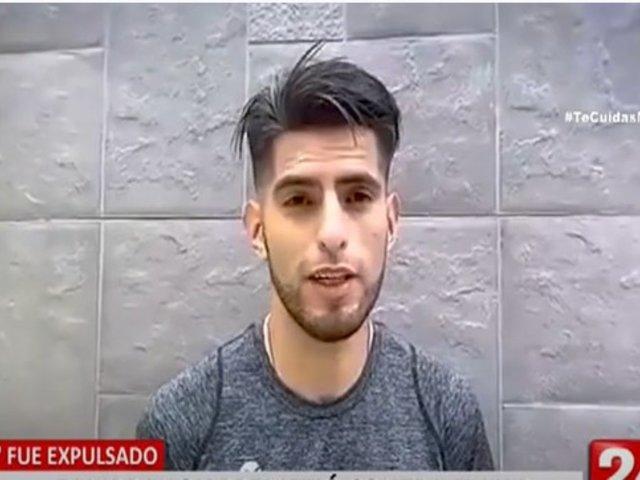 Carlos Zambrano: El 'León' arremetió contra el VAR tras derrota y expulsión