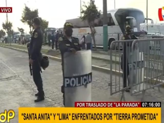 Sigue enfrentamiento entre municipios de Lima y Santa Anita por 'Tierra prometida'