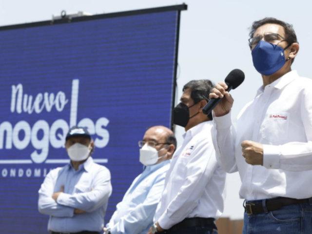 Presidente Vizcarra: Perú está derrotando a la pandemia y recuperando la economía