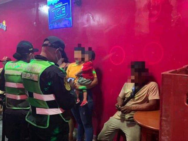 Loreto: 10 menores fueron rescatados en mega operativo contra la trata de personas