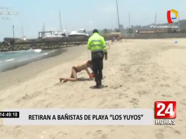 Barranco: bañista son retirados de la playa 'Los Yuyos'