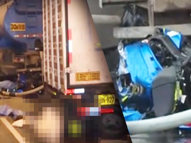 San Miguel: dos personas mueren tras estrellarse moto en la Costa Verde