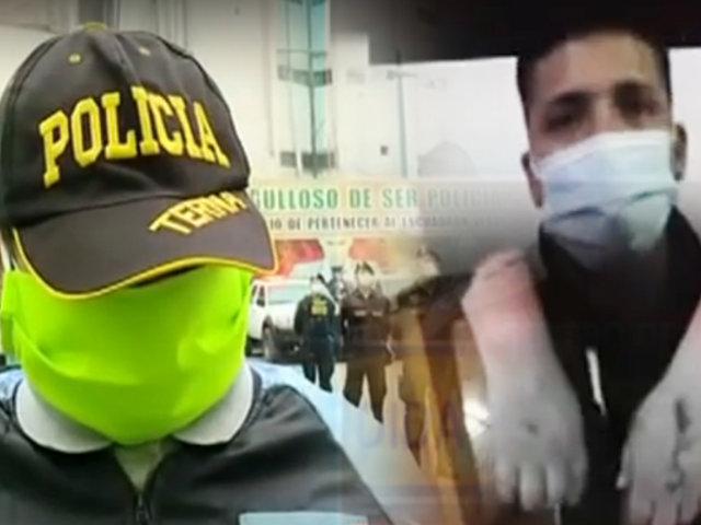 Policía mordida por delincuente narra cómo redujo a su agresor