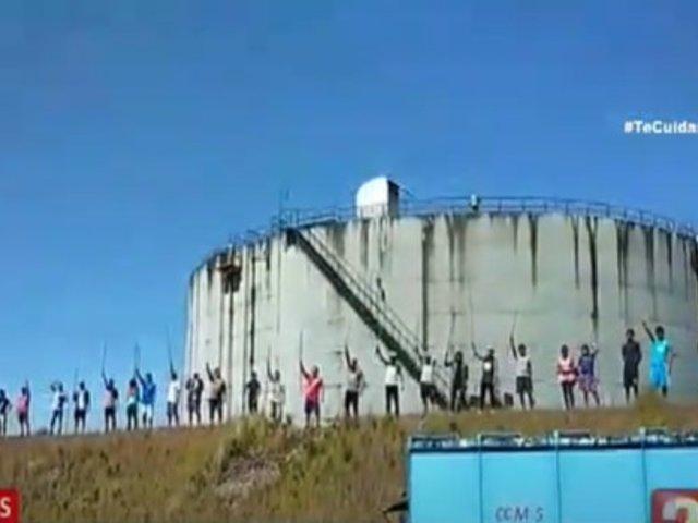Loreto: Manifestantes toman estación de Oleoducto Norperuano